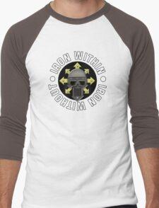 Iron Within, Iron Without Men's Baseball ¾ T-Shirt