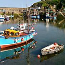 Mevagissey Harbour by Photography  by Mathilde