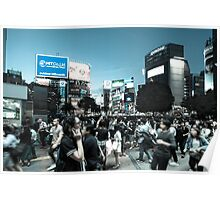 Shibuya Intersection Poster