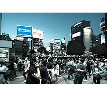 Shibuya Intersection Photographic Print