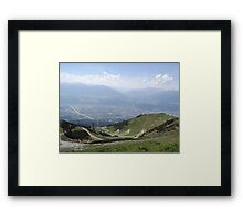 The Path: Innsbruck Framed Print