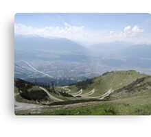 The Path: Innsbruck Metal Print