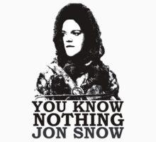 Jon Knows Nothing by MuggleJoanne