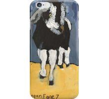 The Goat by Regan Fuller iPhone Case/Skin
