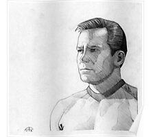 Captain James T. Kirk Poster