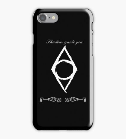 Shadows Guide You iPhone Case/Skin