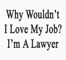 Why Wouldn't I Love My Job?  I'm A Lawyer  by supernova23