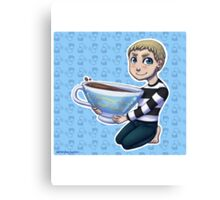 Teacup John Canvas Print