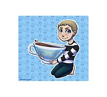 Teacup John Photographic Print