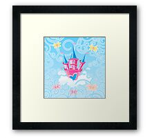 Fairy Castle Framed Print