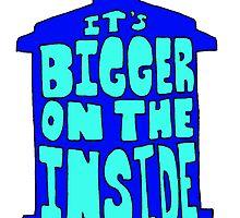 It's Bigger on the Inside  by Skree