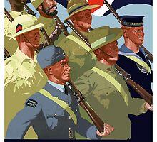 Together -- British Empire WWII by warishellstore