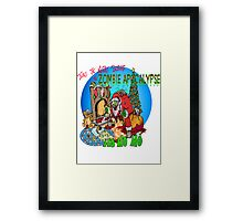 Merry Zombified Christmas Framed Print