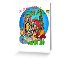 Merry Zombified Christmas Greeting Card