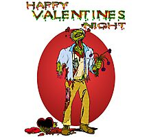Happy Zombie Valentines day Photographic Print
