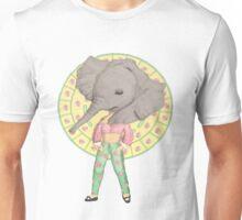 Elephant Girl Unisex T-Shirt