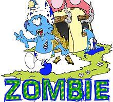 Zombie Smurfs by Skree