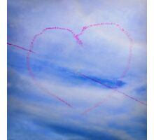 With Love From Lyme xx Photographic Print