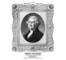 Thomas Jefferson Photographic Print