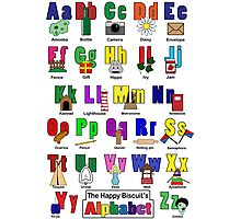 Alphabet poster Photographic Print