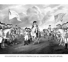Surrender Of Lord Cornwallis At Yorktown by warishellstore