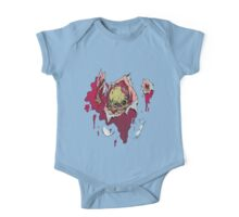 Zombie coming through One Piece - Short Sleeve