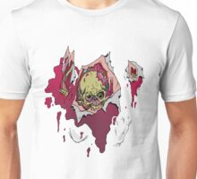 Zombie coming through Unisex T-Shirt