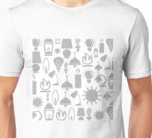 Light a background Unisex T-Shirt