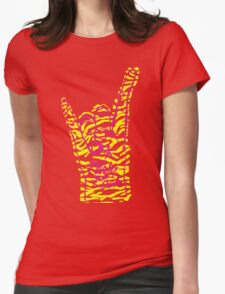 Party Rock Hip Hop Womens Fitted T-Shirt
