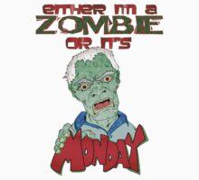 Monday Zombie Kids Clothes