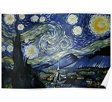 Reproduction of Starry Night Poster