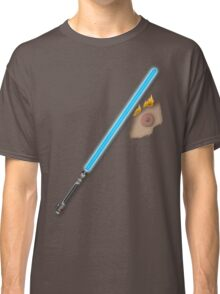 Lightsaber Accident Classic T-Shirt