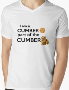 Part of the Cumberbatch Mens V-Neck T-Shirt