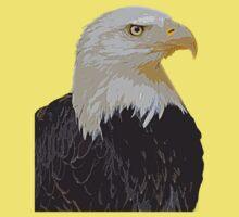 Mr. Bald Eagle Kids Clothes