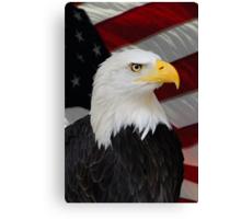 Mr. Bald Eagle Canvas Print
