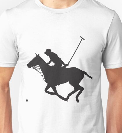 Polo Pony Silhouette Unisex T-Shirt