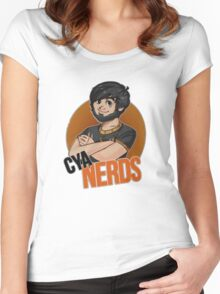 Voyboys's Cya Nerds shirt Women's Fitted Scoop T-Shirt