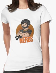 Voyboys's Cya Nerds shirt Womens Fitted T-Shirt
