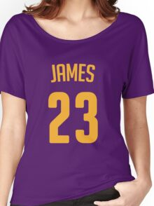 LeBron James #23 Women's Relaxed Fit T-Shirt