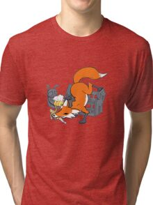 Bad Fox Tri-blend T-Shirt