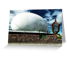 The Town Ball is Now Open Greeting Card