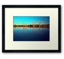 Dawn Races - Lake Pinaroo NSW Framed Print