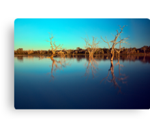 Dawn Races - Lake Pinaroo NSW Canvas Print