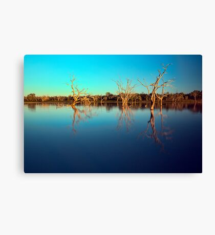 Dawn Races - Lake Pinaroo NSW Canvas Print