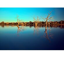 Dawn Races - Lake Pinaroo NSW Photographic Print