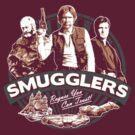Smugglers Three (Warm) by Digital Phoenix Design