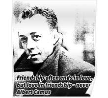 Alber Camus Quote Poster