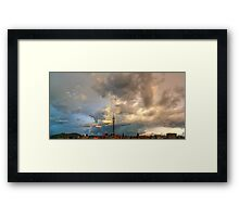 ©HCS Move On Clouds Framed Print