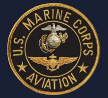 U.S. Marine Corps Aviation T-shirt by Walter Colvin