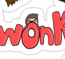 Twonks Podcast Shirt Sticker